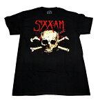 /SIXX:A.M. シックス:エイ・エムDARKNESS SKULL オフィシャル バンドTシャツ【2枚までメール便対応可】【あす楽対応】