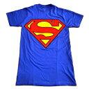 /SUPERMAN スーパーマンSHIELD オフィシャル Tシャツ / 2枚までメール便対応可 / あす楽対応