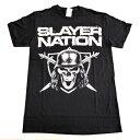 /SLAYER スレイヤーSLAYER NATION オフィシャル バンドTシャツ / 2枚までメール便対応可 / あす楽対応