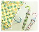 【傘 かわいい キッズ 子供】【キッズ(女の子)/子供傘】バタフライチェック58cmワンタッチジャンプ傘/傘/キッズ/子供/かわいい