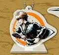 一番カフェ 銀魂 宇宙一かっこいい男達 シリーズ ボールチェーン付き クリアスタンド 沖田 総悟