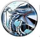 遊☆戯☆王 遊戯王 デュエルモンスターズ キャラバッジコレクション ブルーアイズホワイトドラゴン 単品 缶バッジ