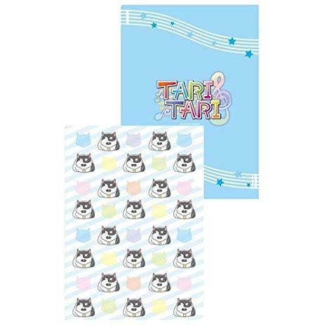 【新品】TARI TARI タリタリ クリアファイル ブルー画像