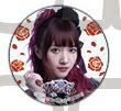 Roselia アーティストトレーディング缶バッジ 遠藤ゆりか (今井リサ) A 単品 バンドリ ガルパ ロゼリア 缶バッジ
