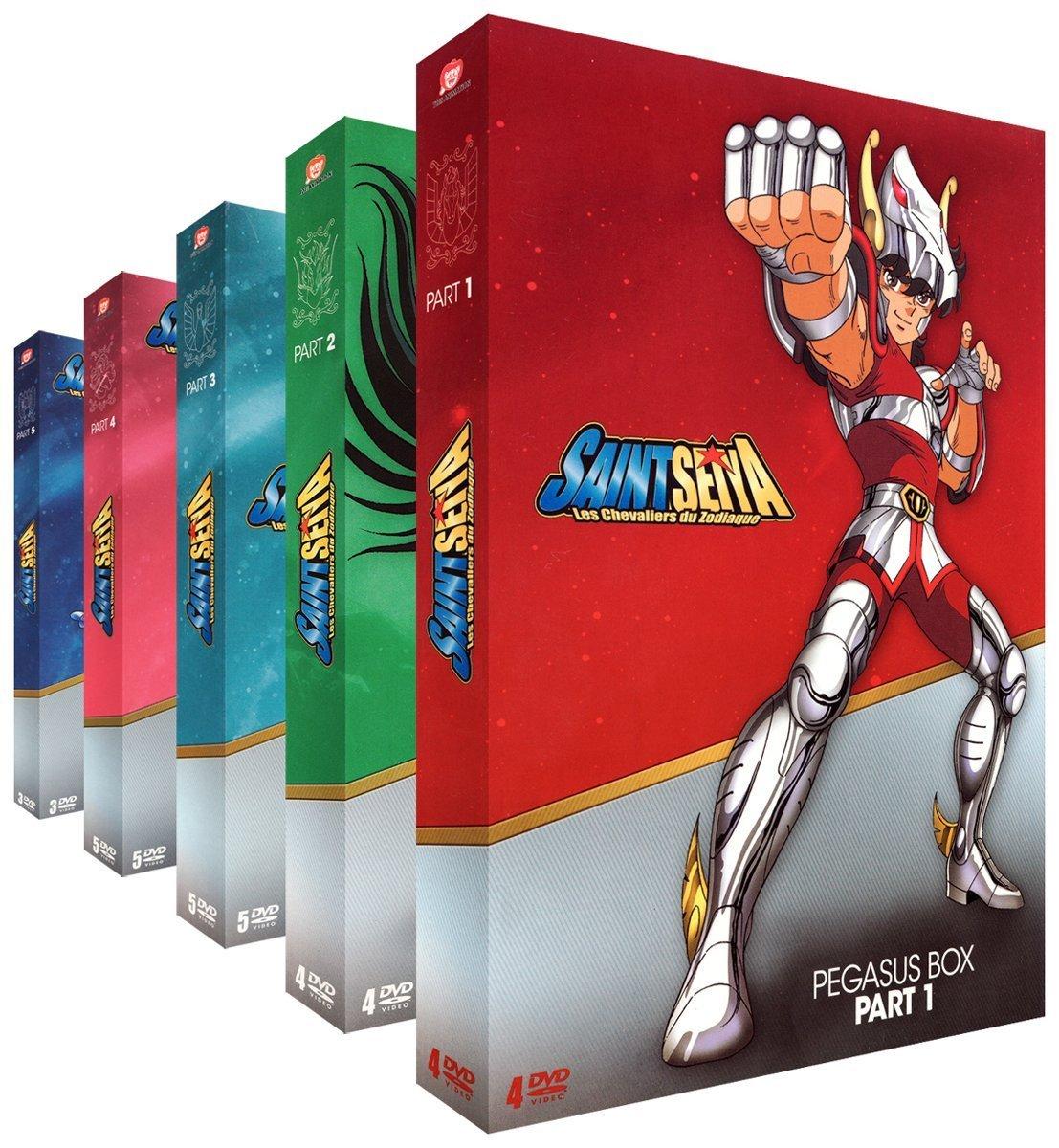 Knights Of The Zodiac dvd TV DVD-BOX NEW