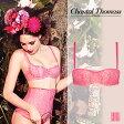 【50%OFF】フランス【ChantalThomass】シャンタルトーマスVertige(ヴァルティージ)パデッドストラップレスブラ(シリコン付)Love Pinkカラー(ピンク)