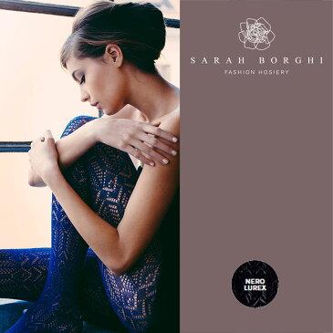 【50%OFF】イタリア【SARAH BORGHI】サラボルギGIULIA(ジュリア)ラメタイツ