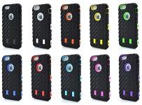 iPhone6ケース耐衝撃シリコンケースプラケースハイブリッドタイヤパターン自動車カーアップルマーク窓付き!人気商品05P07Nov15