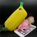 iPhone5iPhone5siPhone6SEケース耐衝撃シリコンケースおもしろジョークバナナ!!食品フード食べ物果物フルーツプレゼントパーティイベント05P27May16