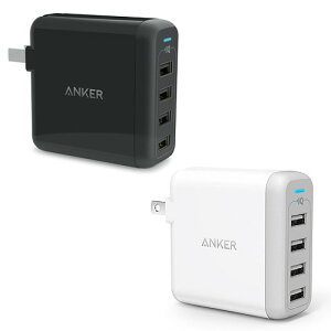 [Qualcomm認証済]AnkerPowerPort+1(QuickCharge2.0&PowerIQ&VoltageBoost搭載3-in-1プレミアム18WUSB急速充電器)ホワイト・ブラック