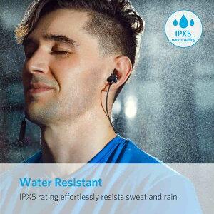 AnkerSoundBudsSlimBluetoothイヤホン(カナル型)【マグネット機能/防水規格IPX4/内蔵マイク搭載】iPhone、Android各種対応