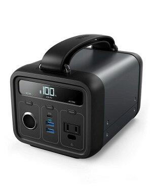 AnkerPowerHouse200(213Wh/57600mAhポータブル電源)【PSE認証済/USB-A出力&USB-C入出力&AC出力&DCシガーソケット出力対応/PowerIQ搭載】キャンプ、緊急・災害時バックアップ用電源