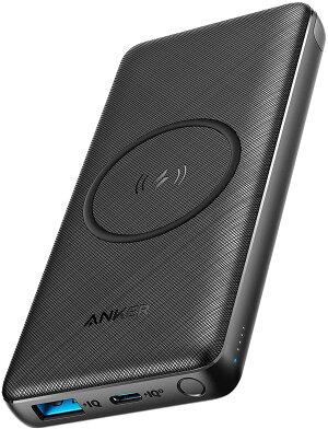 AnkerPowerCoreFusion5000(5000mAhモバイルバッテリー搭載USB急速充電器)【PowerIQ搭載/折畳式プラグ搭載】iPhone、iPad、Android各種対応