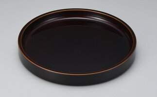 【送料無料】【送料無料】匠の逸品飛騨春慶塗茶盆