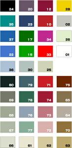 紙裏ハイミロンクロス用(全39色)裏面が紙製の壁紙タイプ〜スクリーン周りや壁面に〜