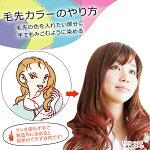 アンナドンナエブリヘアマニキュア毛先カラーのやり方