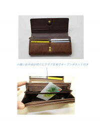 【BebeDayan】古書の中のべべダヤン長財布2カラー:ネイビー、ブラウン