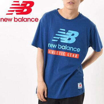 【期間限定プライスダウン】 【ゆうパケット配送】 ニューバランス NB Essentials Field Day NBロゴ Tシャツ AMT11517-CNB メンズ