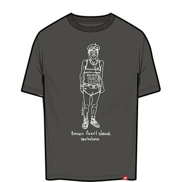【期間限定プライスダウン】 【ゆうパケット配送】 ニューバランス NB Essentials ランナーTシャツ MT11543-BK メンズ