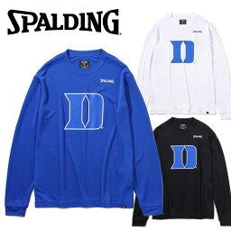 【ゆうパケット配送】 スポルディング BASKETBALL ロングスリーブTシャツ アイアンデューク D SMT201800
