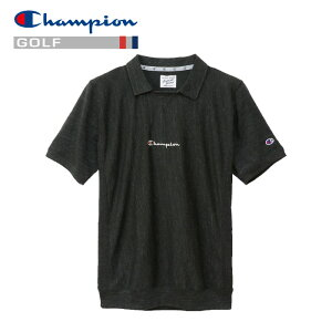 チャンピオン ポロシャツ リバースウィーブガゼット ゴルフ C3-PG312-090 メンズ 19SS