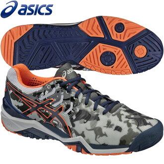 ★供17SS asics(亞瑟士)網球鞋人全部大衣使用的凝膠解決7 L.E.墨爾本澳大利亞網球公開賽限定彩色asics E710Y-0149