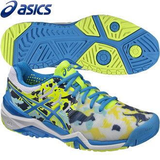 ★供17SS asics(亞瑟士)網球鞋女士全部大衣使用的凝膠解決7墨爾本asics E760Y-0143