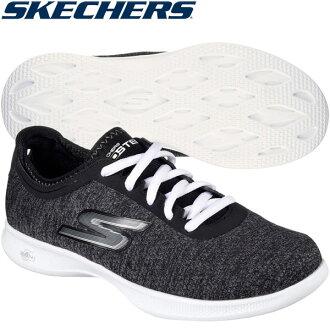 ○17SP SKECHERS(suketchazu)運動鞋女士鞋行走GO STEP Lite 14485 BKW