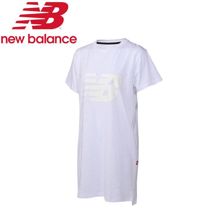 ★クリアランス! ★17SS New Balance(ニューバランス) ロングショートスリーブT JWTL7219-WT レディース