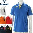 ★17SS hummel(ヒュンメル) 半袖ポロシャツ メンズ ワンポイントドライポロシャツ トレーニング HAY2073