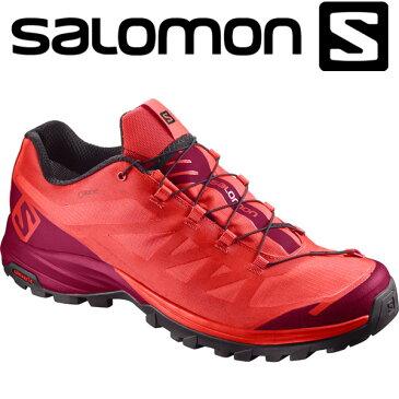 17FW SALOMON(サロモン) レディース ハイキング ウォーキングシューズ ゴアテックス OUT PATH GORE-TEX L40001800