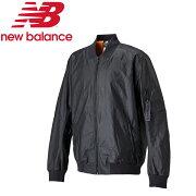 ★17FWNewBalance(ニューバランス)トレーニングジャケットメンズ247スポーツボンバーAMJ73553-BK