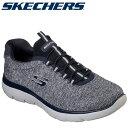 スケッチャーズ SKECHERS SUMMITS-FORTON 52813-NVY メンズシューズ