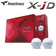 在庫限りツアーステージTOURSTAGEX-jD(エックス・ジェイディー)ゴルフボール12P