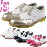 ◇ファンフルゴルフレディースゴルフシューズスパイクレスFUN200FUNFULL