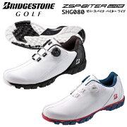ブリヂストンゴルフTOURBゼロ・スパイク・バイターワイドゴルフシューズメンズSHG0802020モデルボアBoaスパイクレス
