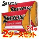 【2ダースセット】 スリクソン ディスタンス ゴルフボール 2ダース(24球) 2018年モデル