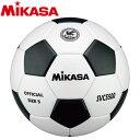 ミカサ サッカーボール 検定球5号 貼り 白黒 SVC5500-WBK 2000010