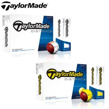 期間限定スペシャルプライス 日本仕様 テーラーメイド TaylorMade DISTANCE ディスタンス ゴルフボール 1ダース(12p)