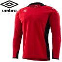 【ゆうパケット配送】アンブロ Jr.GKシャツ ジュニア UAS6707GJ-MRED 1
