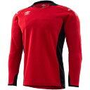 【ゆうパケット配送】アンブロ Jr.GKシャツ ジュニア UAS6707GJ-MRED 2