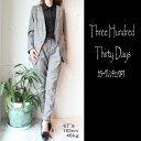 【セール】SALE!!Three Hundred Thirty Days(スリーハンドレッドサーティデイズ)カラーグレンチェックPT【送料無料】 レディース 通..