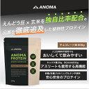 植物性プロテイン|ANOMA ( アノマ )プロテイン チョコレート風味600g | 人工甘味料不使用 ピープロテイン ( えんどう豆プロテイン ) × ライスプロテ
