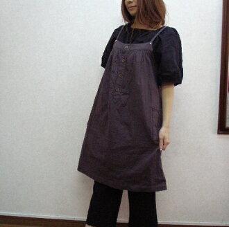 ♪ chocolate tea W ガーゼキャミスモックワンピ-Su M-4 L