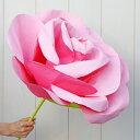 ジャイアントフラワー 手作りキット フローラ L 花径55cm 8色 【結婚式やパーティーに!作り方 動画公開中】 ウェディング演出にインパクト大 【あす楽対応】 ペーパーフラワー