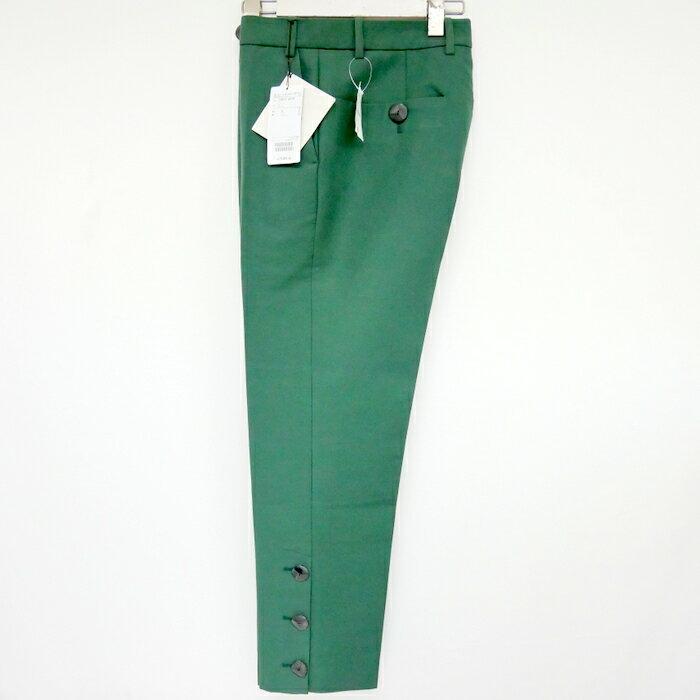メンズファッション, ズボン・パンツ NAMACHEKO 19AW Bawanim Trousers Trouser 82500 GREEN S