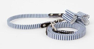 Day's Paw デイズポウ アンティークリボンリード 犬 首輪 かわいい 革 リード セット 120cm × 1.1cm 小型犬 中型犬