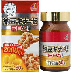 【ユニマットリケン】納豆キナーゼEPA 24.36g (406mg×60粒) ※お取り寄せ商品【RCP】【02P03Dec16】