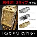 Izax Valentinoメンズウォッチ3色100,000円(税別)...