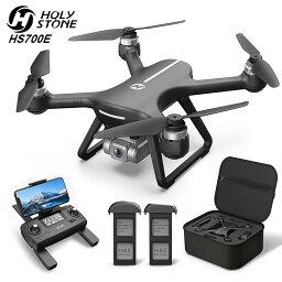 Holy Stone ドローン カメラ付き 4K GPS搭載 EIS手ブレ補正 Sonyセンサー 広角130°HDカメラ ブラシレスモーター付き フライト時間42分 収納ケース付き ドローン 小型 カメラ付き 子供 大人 自動航行 高度維持 オートリターンモード フォローミーモード 国内認証済み HS700E